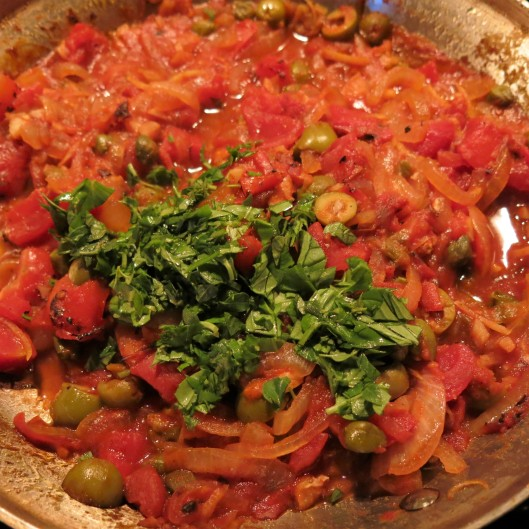 Sicilian-Style Tuna Steaks