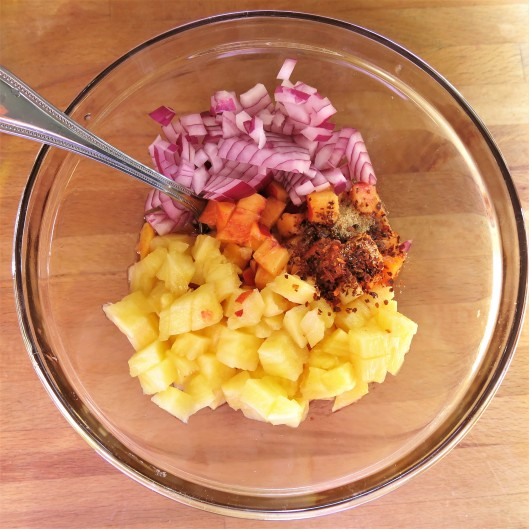Quick Fresh Fruit Salsa