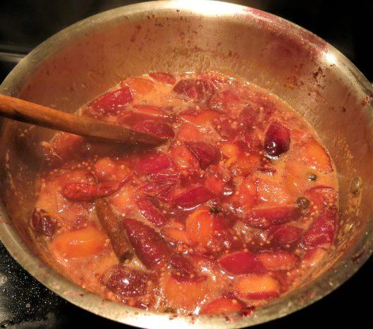 Spiced Plum Relish