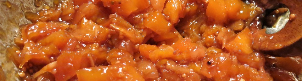 Spiced Peach-Pineapple Relish
