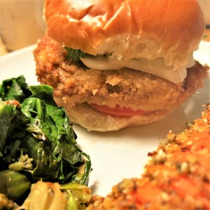 Simple Breaded Pork Cutlets