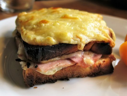 Croque-Monsieur with Mornay Sauce