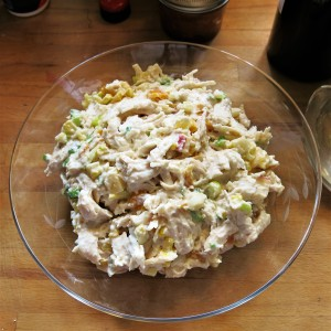 Chicken Salad, Brazilian-Style