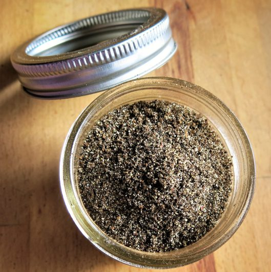 Smoked Tea Rub for Meat