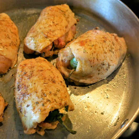 Jalapeño Popper-Stuffed Chicken Thighs