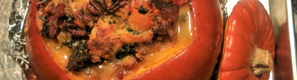 Heavenly Stuffed Pumpkin