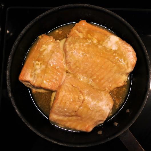 Orange-Maple Glazed Salmon