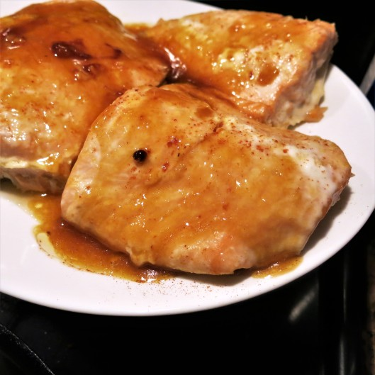Orange-Maple Glazed Salmon