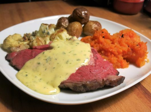 Prime Rib Perfection with Béarnaise Sauce