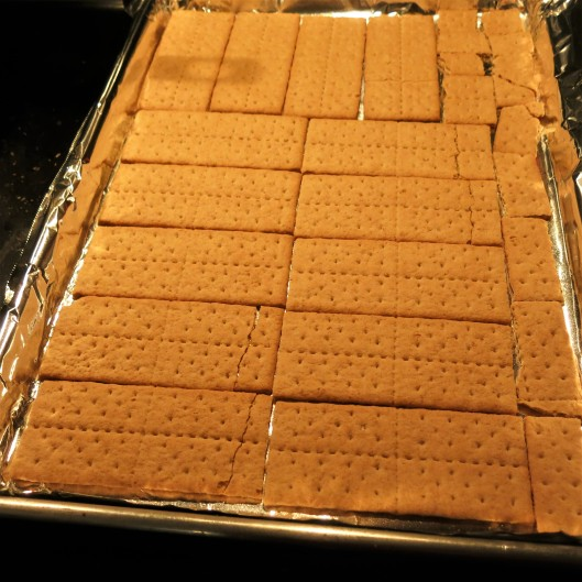 Graham Crackers for Bitcoin Butter-Almond Bits