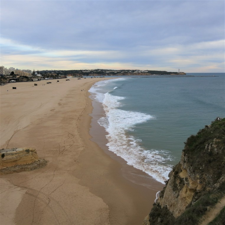 The Beach in Albufeira, Algarve