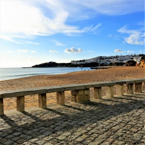 """""""Old"""" Albufeira and the Beach - Algarve"""