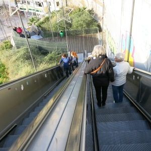 Escalator from the Cliffs to the Beach - Albufeira