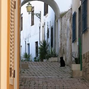 Alleyway in Albufeira - Algarve