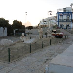 Sand-Like People on the Beach - Albufeira
