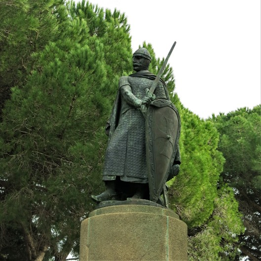 King Afonso Henriques, the first King of Portugal