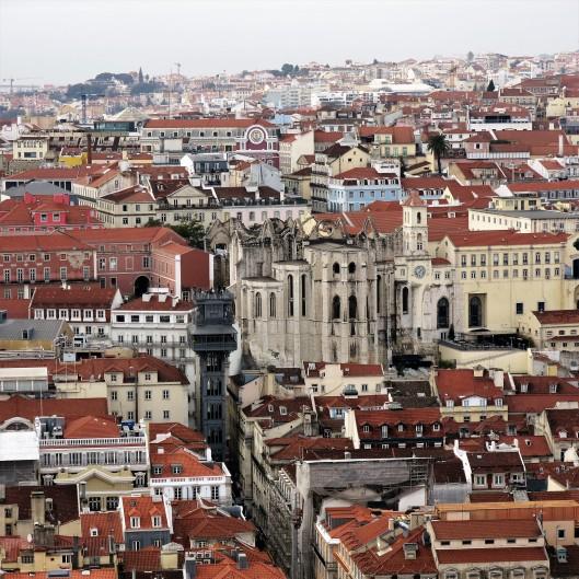 Lisbon from Castelo São Jorge