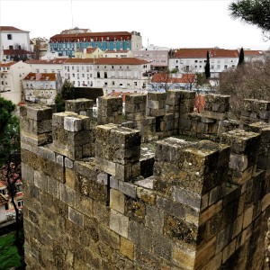 Lisbon from the Castelo São Jorge (St. George Castle)