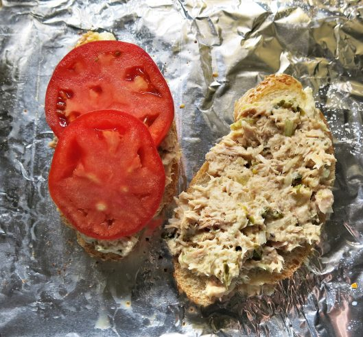 Quick and Easy Tuna Melt