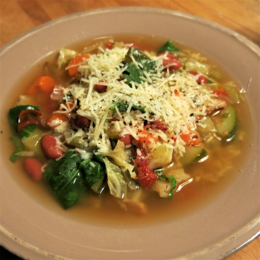 Vegetable Soup with Italian Flavors