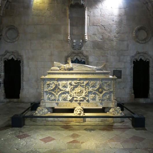 Tomb of Vasco de Gama - Mosteiro de São Jeronimo - Lisbon