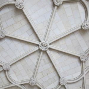 Ceiling of Igreja de Santa Maria - Lisbon