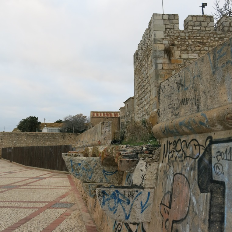 Castle in Cidade Velha, Faro