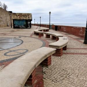 Porta Nova Pier with Fisherman's Shacks, Faro