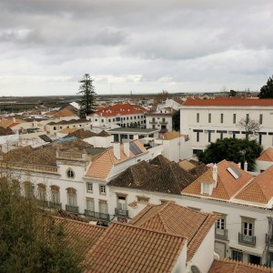 View from The Castle at Tavira - Algarve