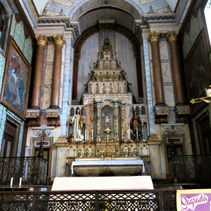 Main Altar in Igreja de Santa Maria do Castelo - Tavira