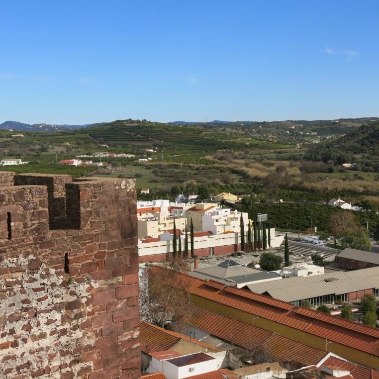 Vista from the Silves Castle - Algarve