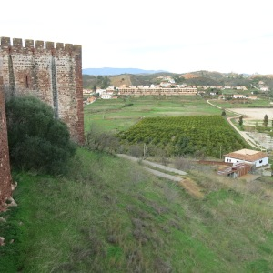Vista from the Silves Castle - Algarve
