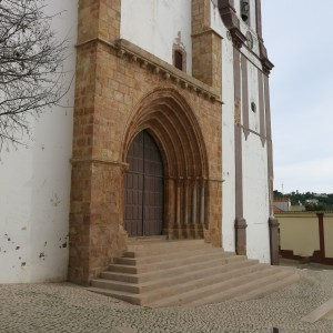 Front Door of Sé de Silves (Cathedral of Silves) - Algarve