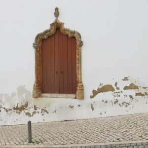 Door for Santa Misericórdia Church - Silves - Algarve