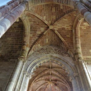 Ceiling of Sé de Silves (Cathedral of Silves) - Algarve