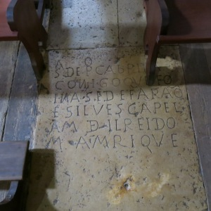 Tomb Slab in Sé de Silves (Cathedral of Silves) - Algarve