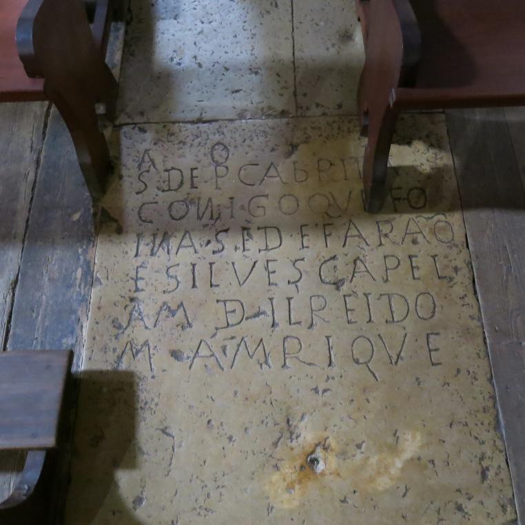 Tomb Slab in Sé de Silves (Cathedral of Silves) - Algarve