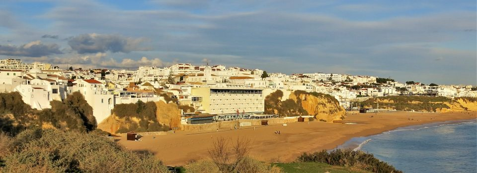 Beach Town in Portugal