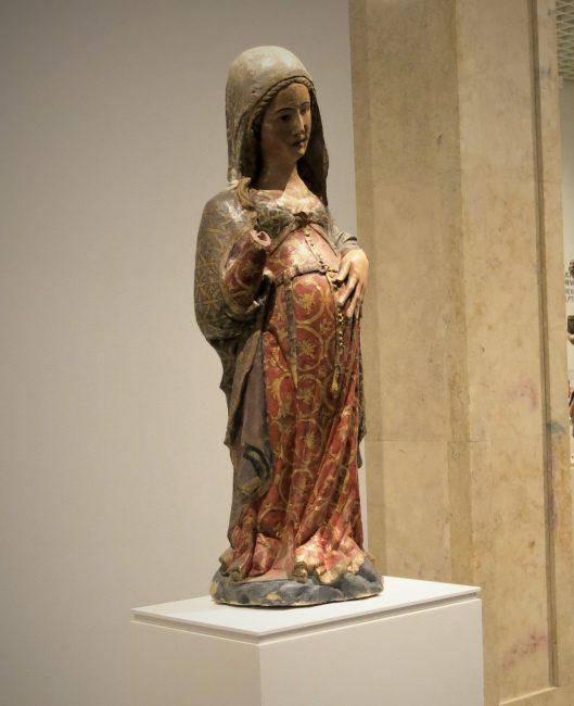 Pregnant Madonna - Museu National de Arte Antiga - Lisbon