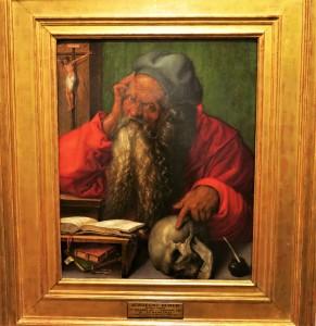 Portrait of São Jeronimo - Albrecht Dürer - Lisbon