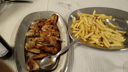 Piri-Piri Chicken and Fries at Restaurante Ramires - Guia