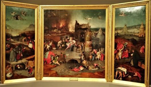 Temptations of St. Anthony by Jheronymus Bosch - Lisbon