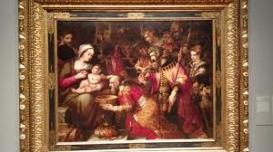 """Adoration of the Magi"" - Unknown Italian Artist - Lisbon"
