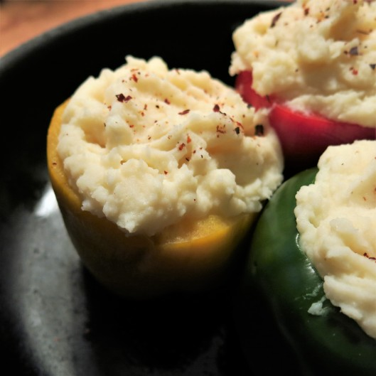 Papa Rellena Stuffed Peppers