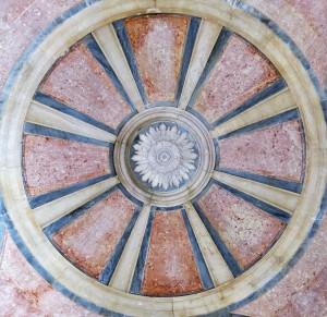 Ceiling Detail - Palácio de Mafra