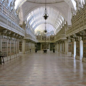 The Library - Palácio de Mafra