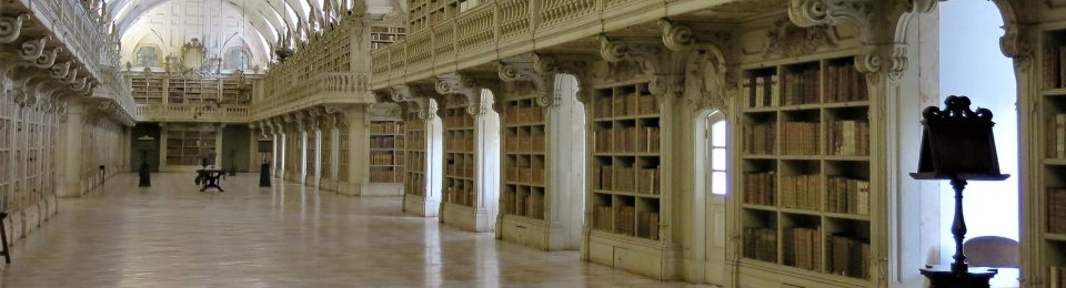 The Library - Palácio de Mafra - Portugal