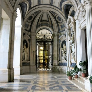 Entryway to The Basilica - Mafra