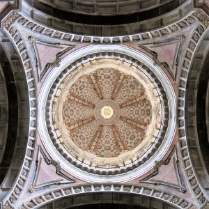 Ceiling of The Basilica - Mafra
