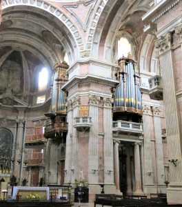 Two of the Organs - The Basilica - Mafra